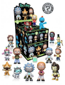 Rick and Morty Mystery Mini Figures 5 cm Display (12)