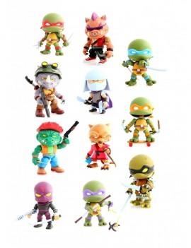 Teenage Mutant Ninja Turtles Action Vinyl Mini Figures 8 cm Wave 2 Display (16)