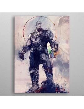 Marvel Metal Poster Infinity War Infinity Gauntlet 10 x 14 cm