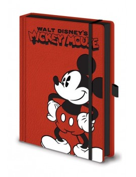 Mickey Mouse Premium Notebook A5 Pose
