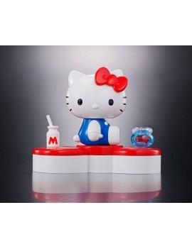 Hello Kitty Chogokin Diecast Action Figure Hello Kitty 45th Anniversary 6 cm