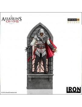 Assassin's Creed II Art Scale Statue 1/10 Ezio Auditore Deluxe 31 cm