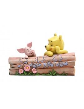 Disney Statue Pooh & Piglet by Jim Shore 10 cm