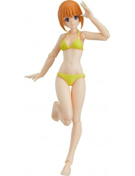 Original Character Figma Action Figure Female Swimsuit Body (Emily) Type 2 13 cm