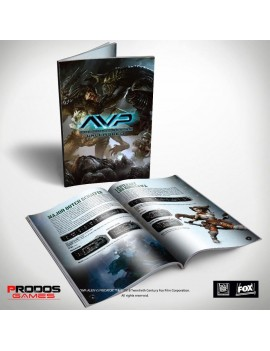 Alien vs Predator Tabletop Game Rulebook *English Version*
