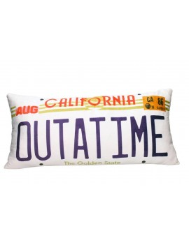 Back to the Future Pillow Out A Time 70 cm