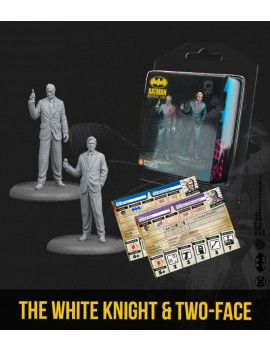 Batman Miniature Game Miniatures The White Knight & Two-Face *English Version*