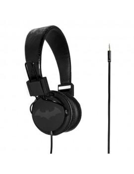 Batman Teen Headphones Black Logo