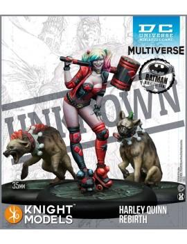 Batman/DC Universe Miniature Game 2nd Edition Miniatures Harley Quinn Rebirth *English Version*