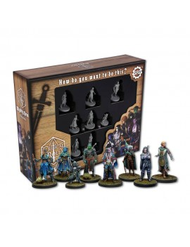 Critical Role Miniatures 8-pack Mighty Nein *English Version*
