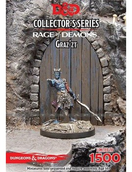 D&D Collectors Series Miniatures Unpainted Miniature Out of the Abyss Demon Lord Graz'zt