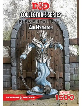 D&D Collectors Series Miniatures Unpainted Miniature Princes of the Apocalypse Air Myrmidon