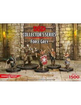 D&D Collectors Series Miniatures Unpainted Miniatures 5-Pack Force Grey