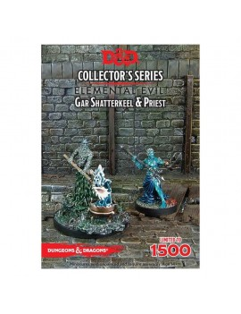 D&D Collectors Series Miniatures Unpainted Miniatures Gar Shatterkeel & Water Priest