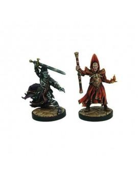 D&D Collectors Series Miniatures Unpainted Miniatures Naergoth Bladelord & Rath Modar