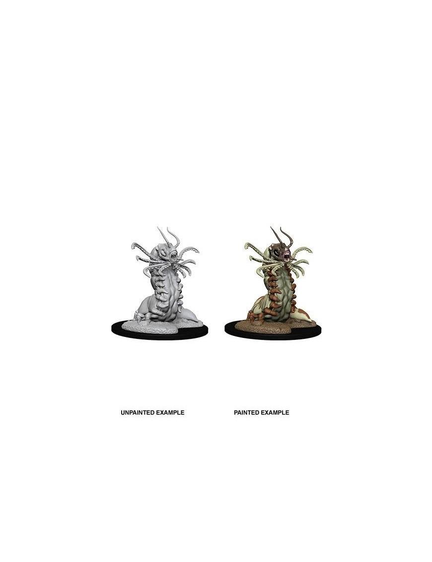 D&D Nolzur's Marvelous Miniatures Unpainted Miniature Carrion Crawler Case (6)