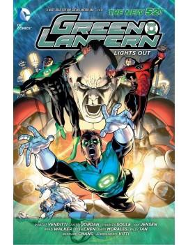 DC Comics Comic Book Green Lantern Lights Out (The New 52) by Robert Venditti english