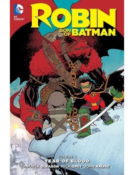 DC Comics Comic Book Robin Son Of Batman Vol. 1 Year Of Blood by Patrick Gleason english