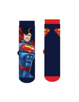 DC Comics Mens Socks 2-Pack Superman Logo Cape
