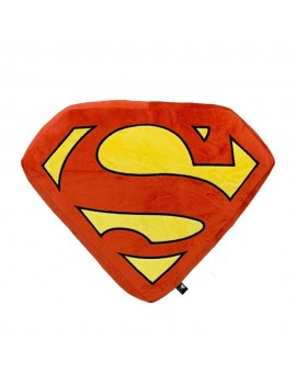 DC Comics Plush Cushion Superman Logo 35 x 35 cm