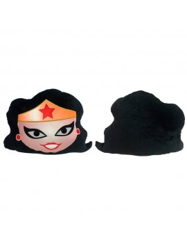 DC Comics Plush Cushion Wonder Woman Face 35 x 35 cm