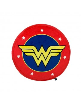 DC Comics Plush Cushion Wonder Woman Logo 35 x 35 cm