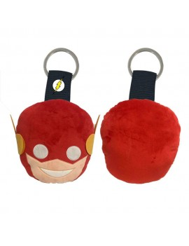 DC Comics Plush Keychain Flash Face 6 cm