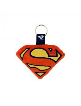 DC Comics Plush Keychain Superman Logo 6 cm