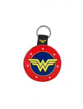 DC Comics Plush Keychain Wonder Woman Logo 6 cm