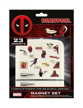 Deadpool Fridge Magnets Comic