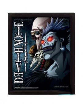 Death Note Framed 3D Lenticular Poster Pack Shinigami 26 x 20 cm (3)