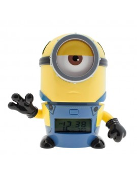 Despicable Me 3 BulbBotz Alarm Clock with Light Minion Mel 14 cm