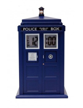 Doctor Who Alarm Clock with Projector Tardis