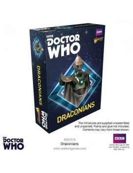 Doctor Who Exterminate! Miniatures Draconians *English Version*