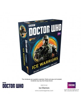 Doctor Who Exterminate! Miniatures Ice Warriors *English Version*