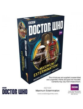 Doctor Who Exterminate! Miniatures Maximum Extermination! *English Version*