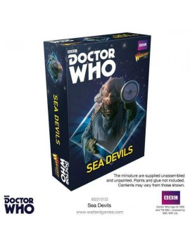 Doctor Who Exterminate! Miniatures Sea Devils *English Version*