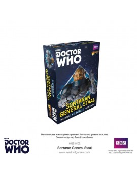 Doctor Who Exterminate! Miniatures Sontaran General Staal *English Version*