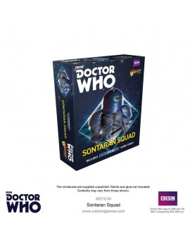 Doctor Who Exterminate! Miniatures Sontaran Squad *English Version*