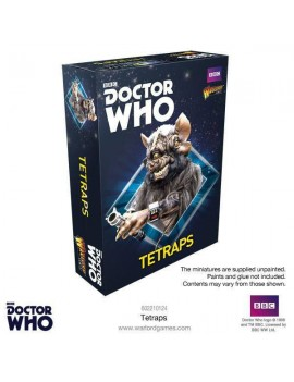 Doctor Who Exterminate! Miniatures Tetraps *English Version*
