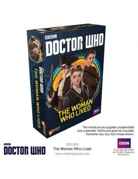 Doctor Who Exterminate! Miniatures The Woman who lived *English Version*