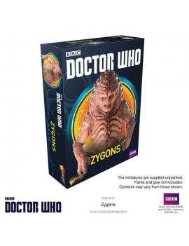Doctor Who Exterminate! Miniatures Zygons *English Version*