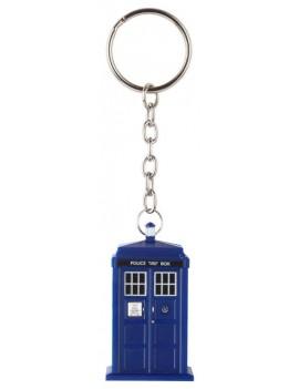 Doctor Who Light-Up Keychain Tardis