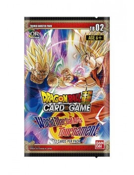Dragon Ball SCG Season 2 Themed Booster World Martial Arts Tournament Display (24) *English Version*