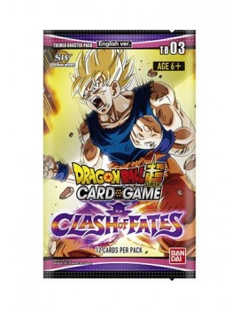 Dragon Ball SCG Season 3 Themed Booster Display Clash of Fate (24) *English Version*