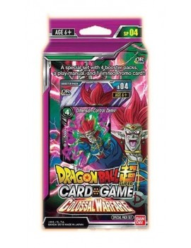 Dragon Ball Super Card Game Season 4 Special Pack Colossal Warfare *English Version*
