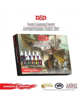 Dungeons & Dragons - Nolzur's Marvelous Pigments: Adventurers Paint Set