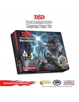 Dungeons & Dragons - Nolzur's Marvelous Pigments: Monsters Paint Set