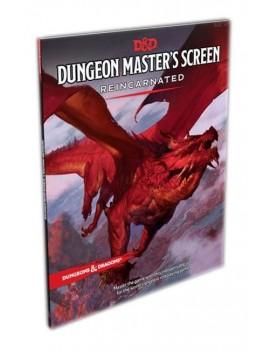 Dungeons & Dragons RPG Dungeon Master's Screen Reincarnated english