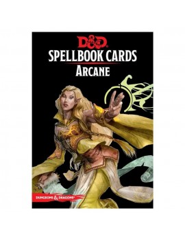 Dungeons & Dragons Spellbook Cards: Arcane Deck *English Version*